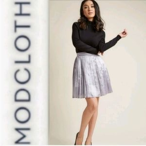 Modcloth Pleated Party Skirt